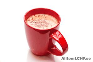 Äggmjölk - gott och mättande när man äter LCHF