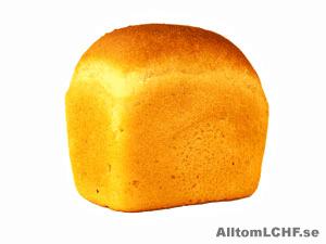 Kan man äta bröd när man äter LCHF?