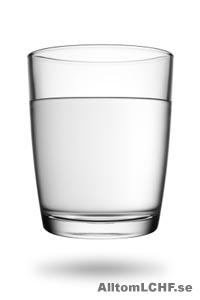 Vad kan man dricka när man äter LCHF?