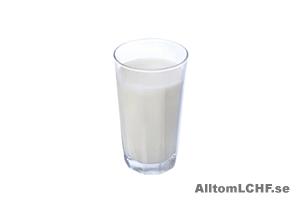 Välj alltid fullfeta mejeriprodukter när du äter LCHF