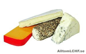 Ost kan du äta mycket av när du följer en LCHF-diet