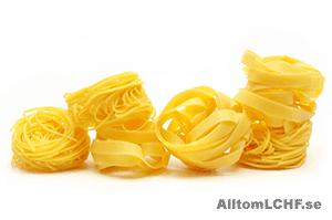 Ett recept på LCHF-pasta