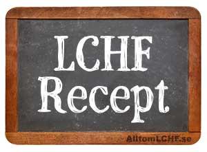 Receptsamlingar med LCHF-recept