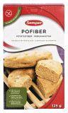 Pofiber kan användas istället för mjöl när man bakar LCHF-bröd