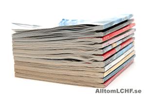 Tidningar om LCHF och lågkolhydratkost.
