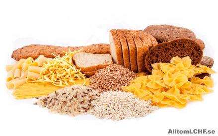 i vilka livsmedel finns gluten