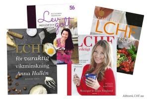 Årets bokrea innehåller många bra LCHF-böcker