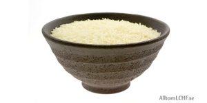 Alternativ till ris när man äter LCHF