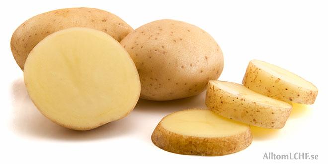 Alternativ till potatis när man äter LCHF